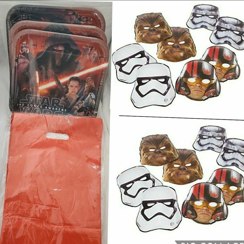 Star Wars party masks  bundle
