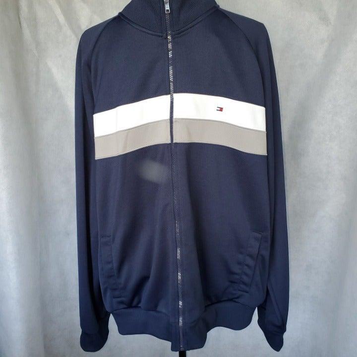 Tommy Hilfiger Blue Sleeve Track Jacket