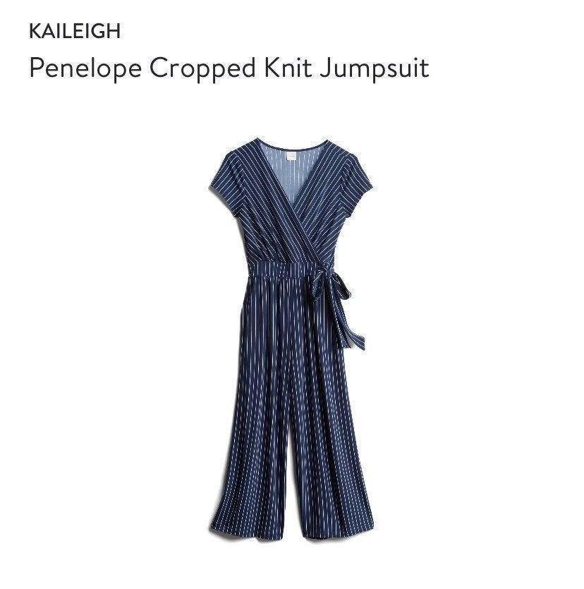 Kaileigh pinstripe Jumpsuit