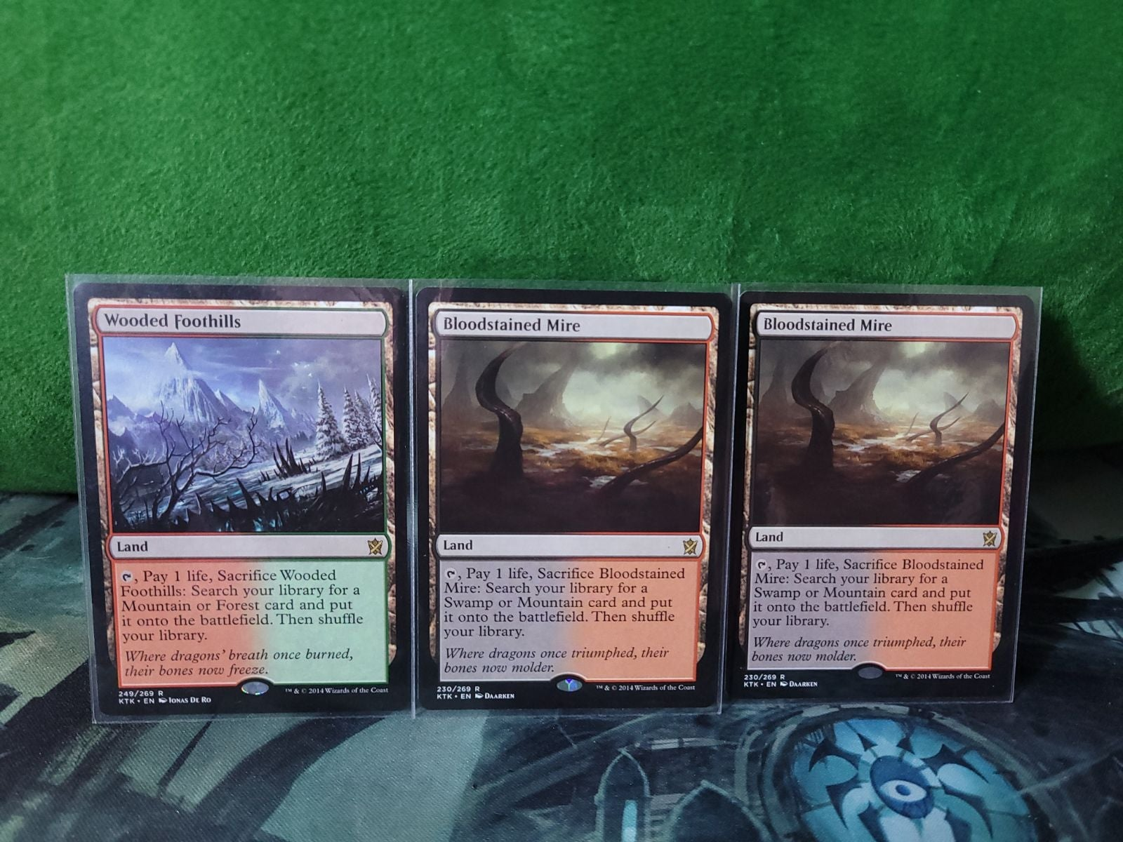 3x MTG Fetchlands NM