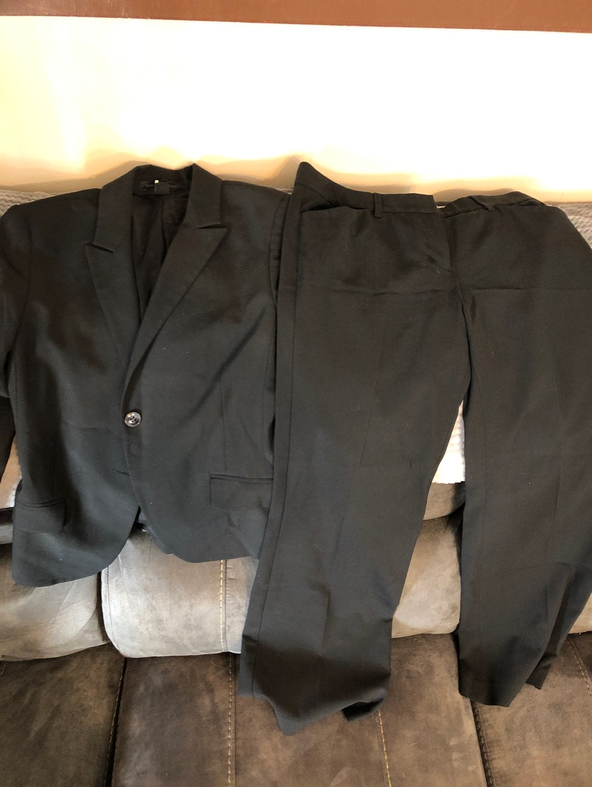 Womens Black Express Suit