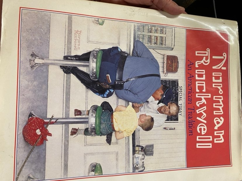 Norman Rockwell American Tradition book