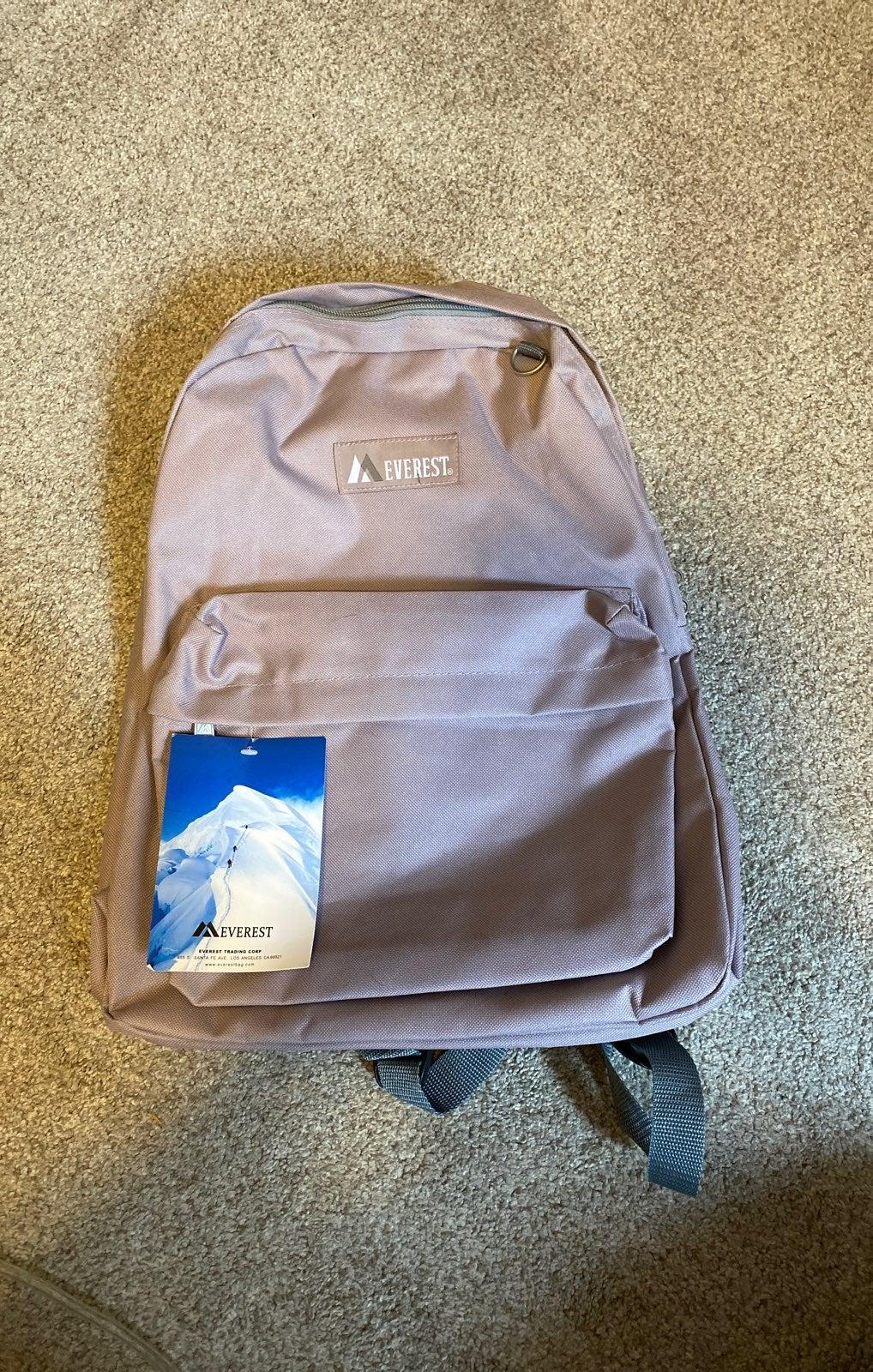 NWT Everest Backpack