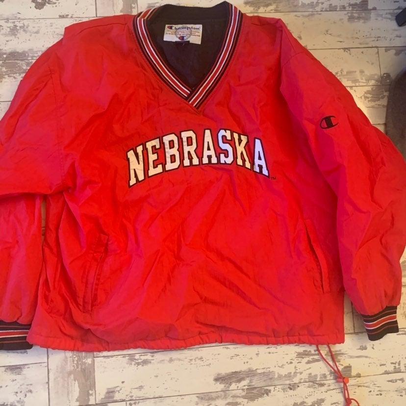 Nebraska football pullover xxl