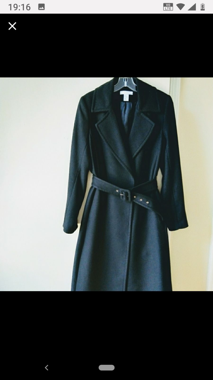 Black Trench Small by