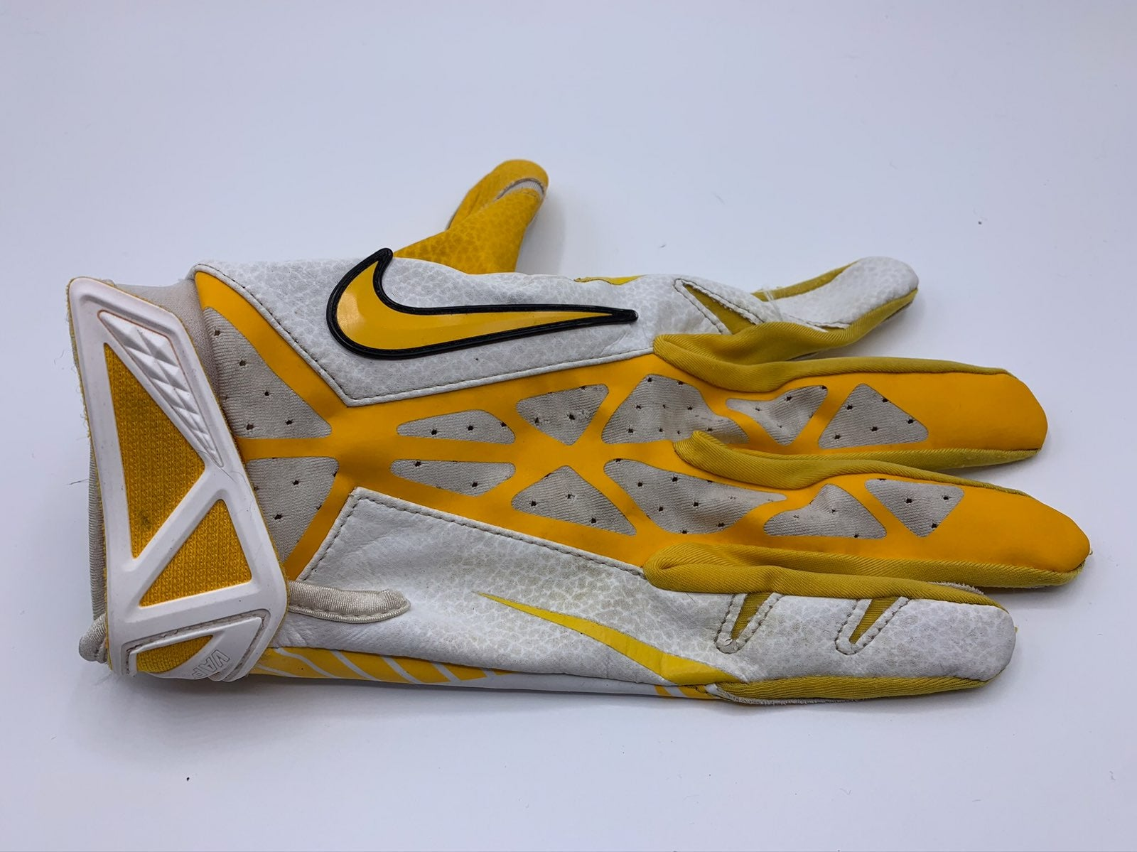 Nike Yellow/Gold/White Football Glove