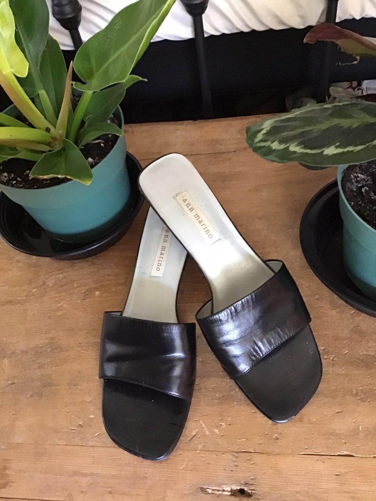 Ann Marino Vintage Slide Heels