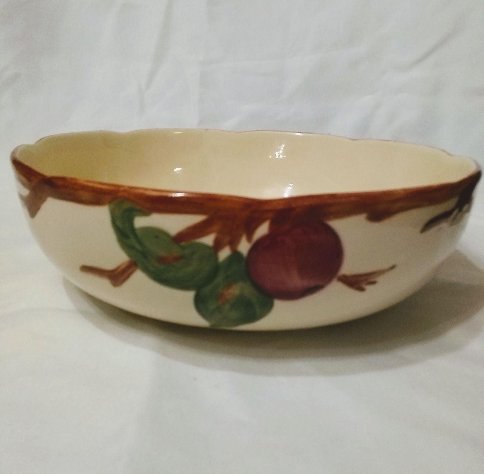 Vintage Franciscan Apple Serving Bowl