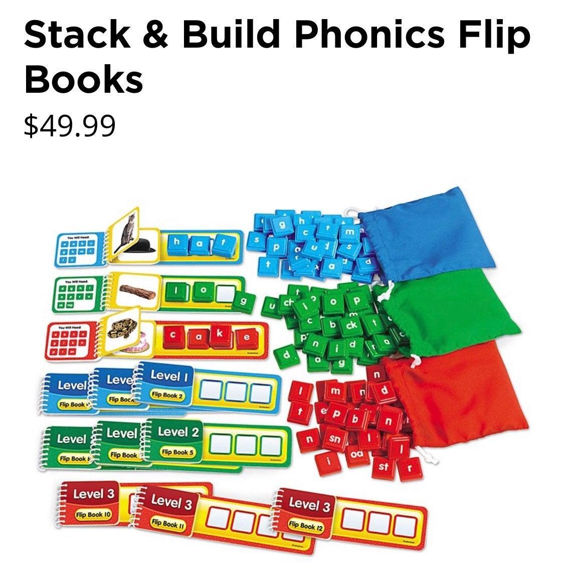 Lakeshore Phonics Flip Books