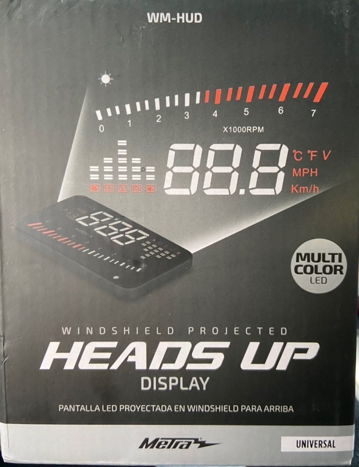 Heads Up LED Car Windshield Display*NEW*