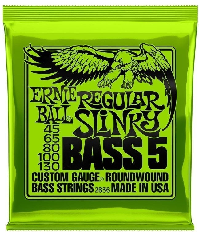 Ernie Ball Nickel Plated Bass Strings