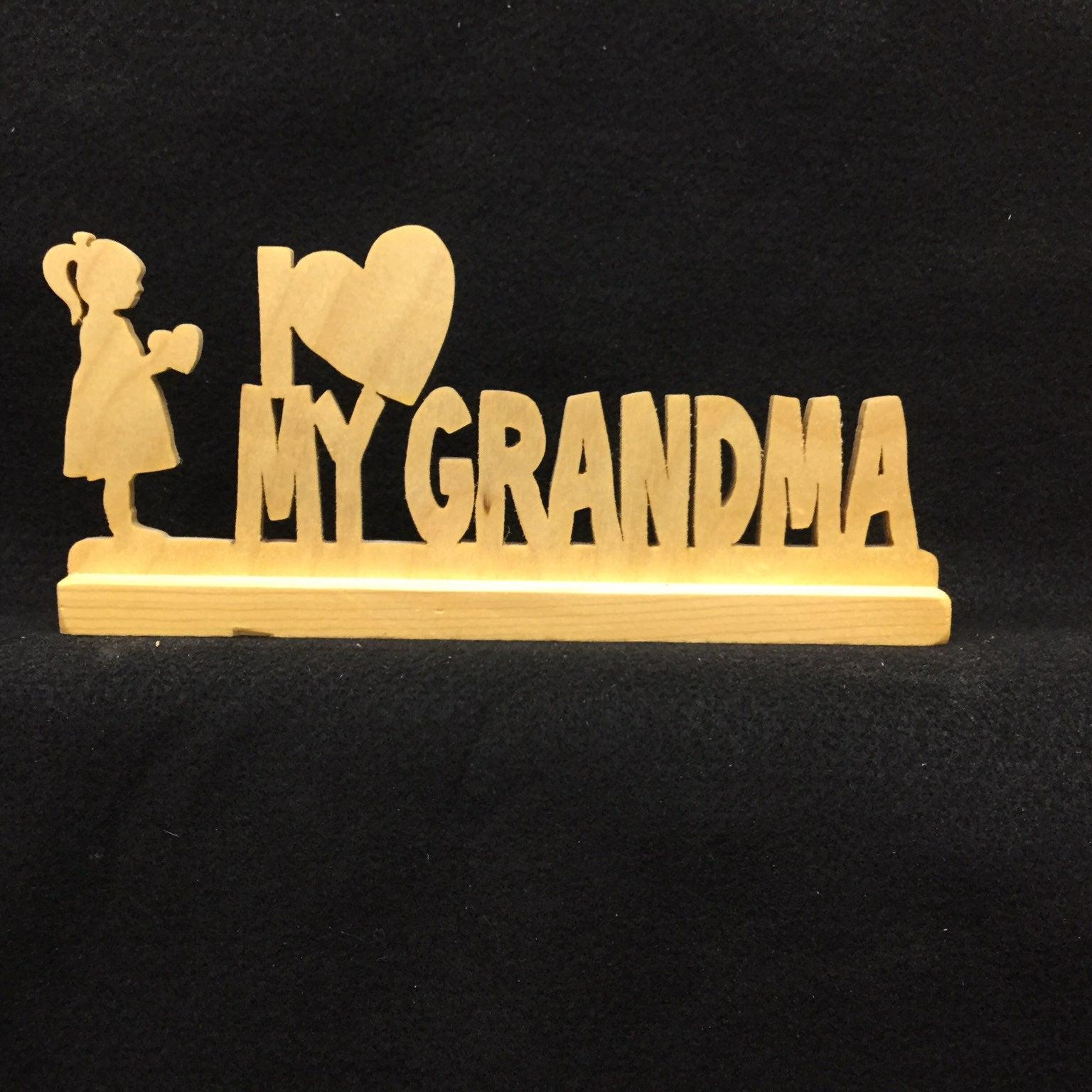 I love Grandma 'girl'