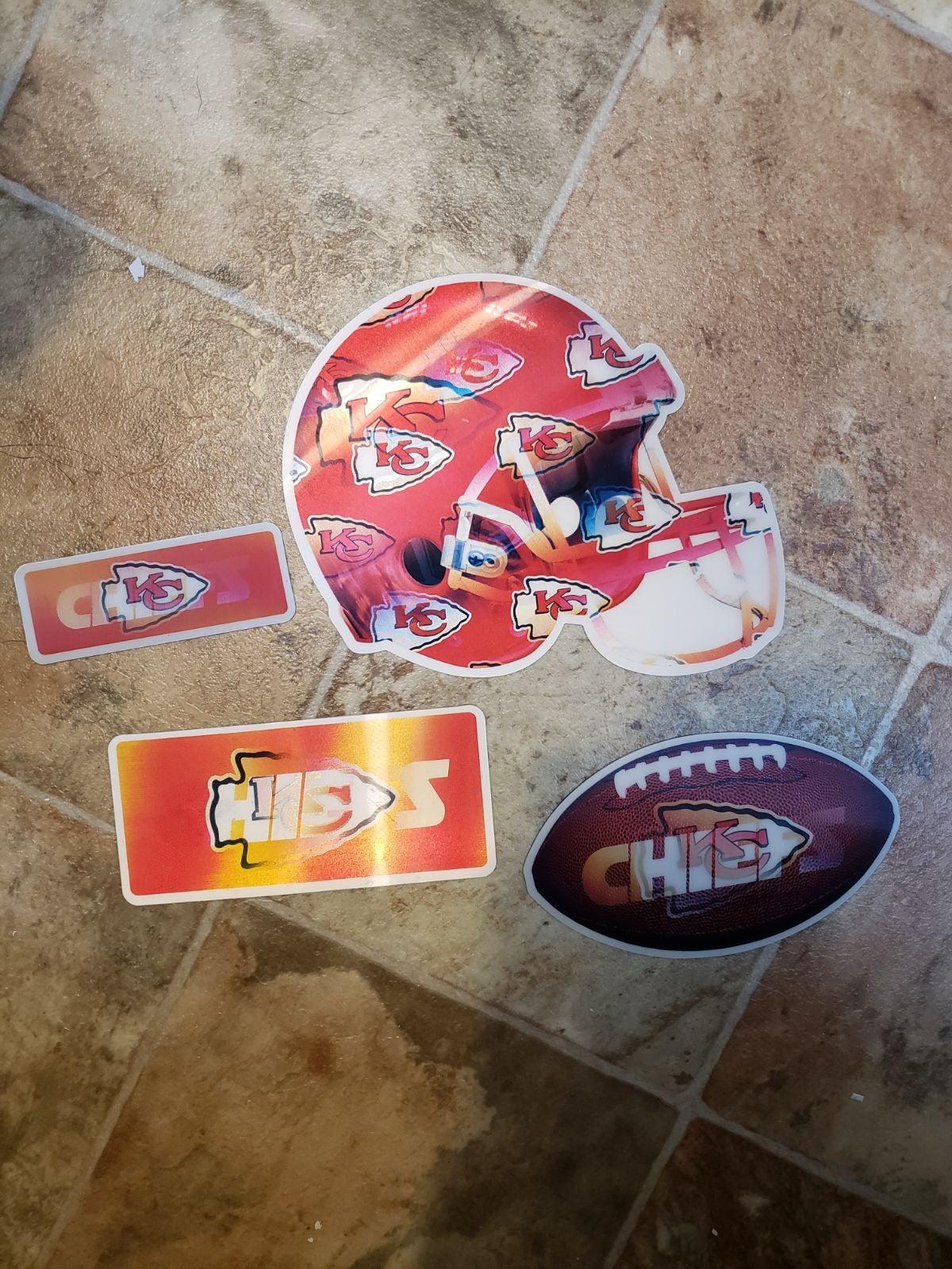 KC Chiefs 3D Magnets Set
