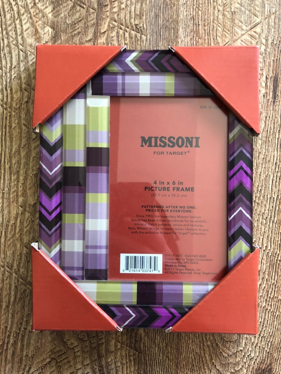 Missoni picture frame