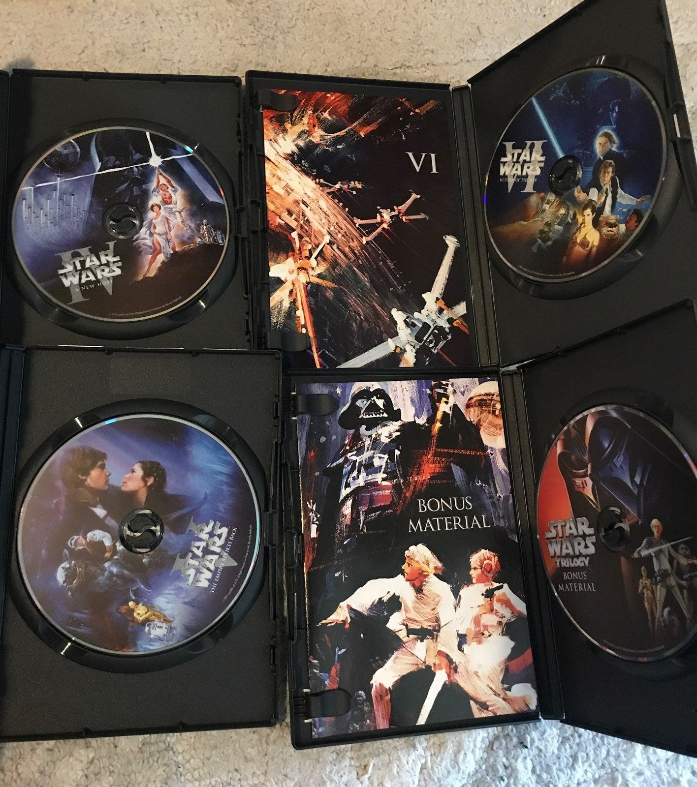 StarWars DVD Trilogy: IV, V, VI