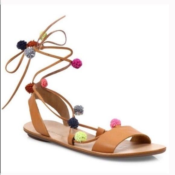 Loeffler Randall Saskia Lace-up Sandal 8