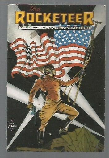 Rocketeer Vintage Postcard Dave Stevens