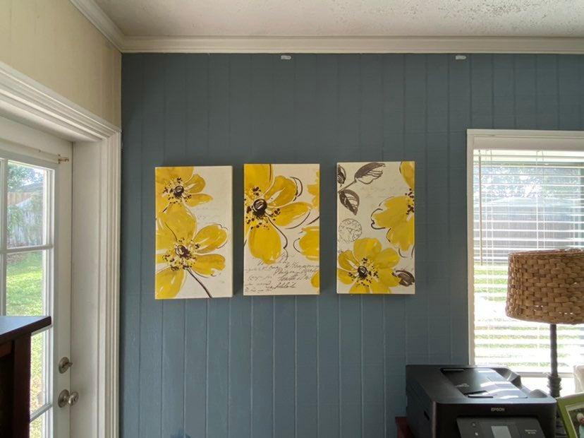 Yellow Canvas Art