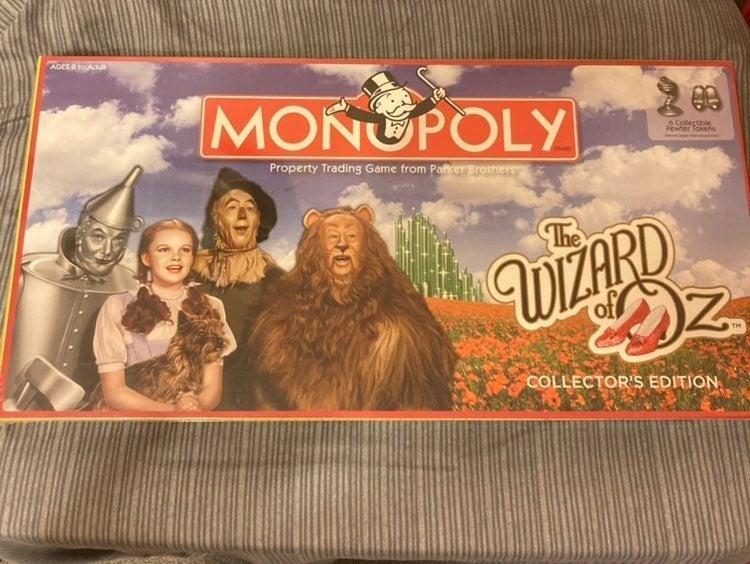 wizard of oz monopoly Collectors Edition