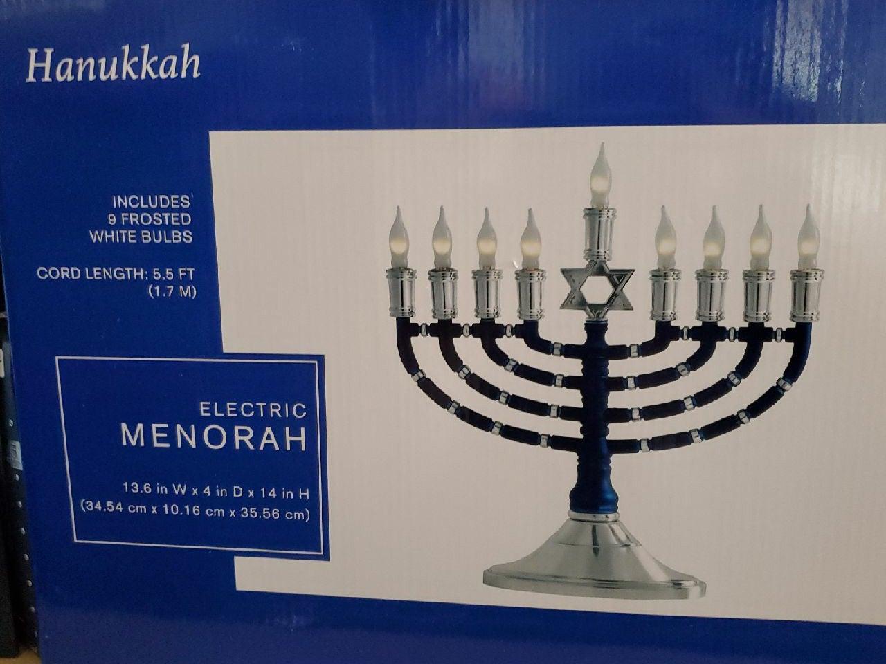Electric menorah