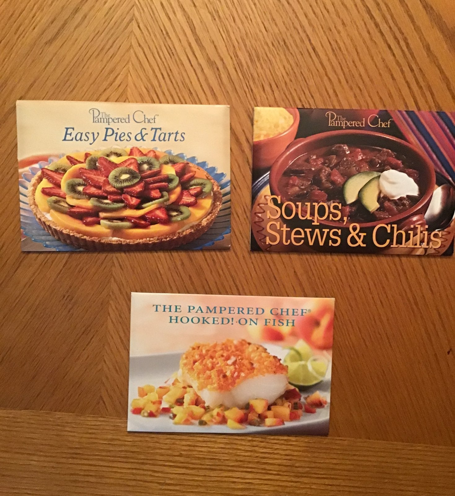 The Pampered Chef Recipe Card Bundle