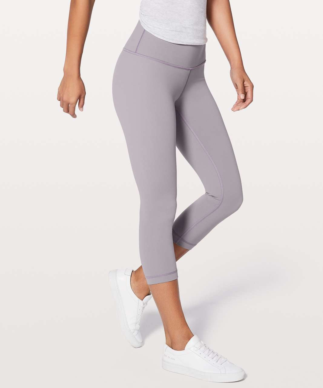 lululemon HR Wunder Under Crop, sz 8