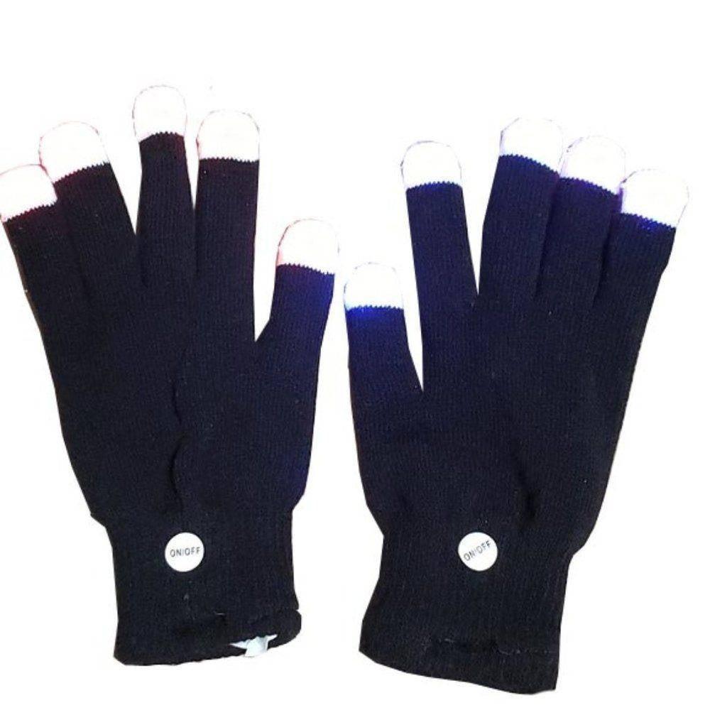 Light-up LED Flashing Finger Gloves