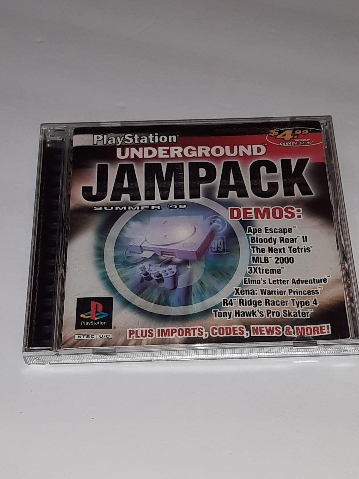 PS Underground Jampack Summer '99 Demos