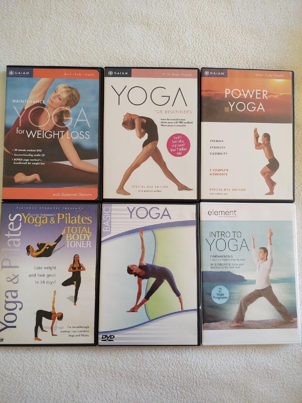 Yoga Exercise Workout Bundle
