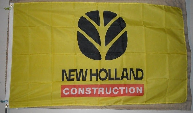 New Holland Construction 3x5 Yellow Flag
