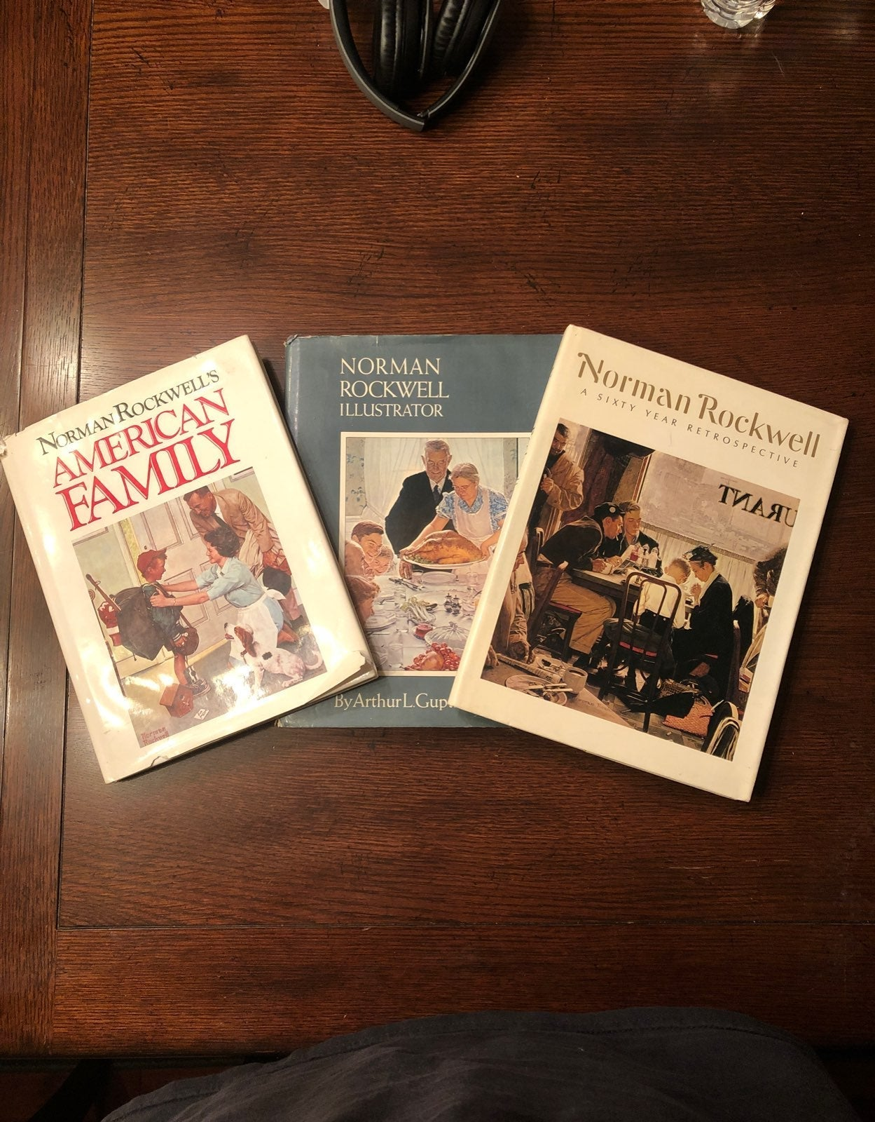 Norman Rockwell Art Books Lot of 3