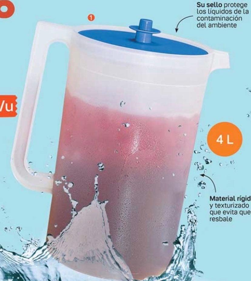 Tupperware Jumbo Jug 4 Liter
