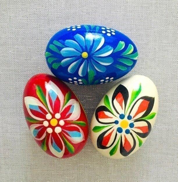 Colorful Handmade Eggs