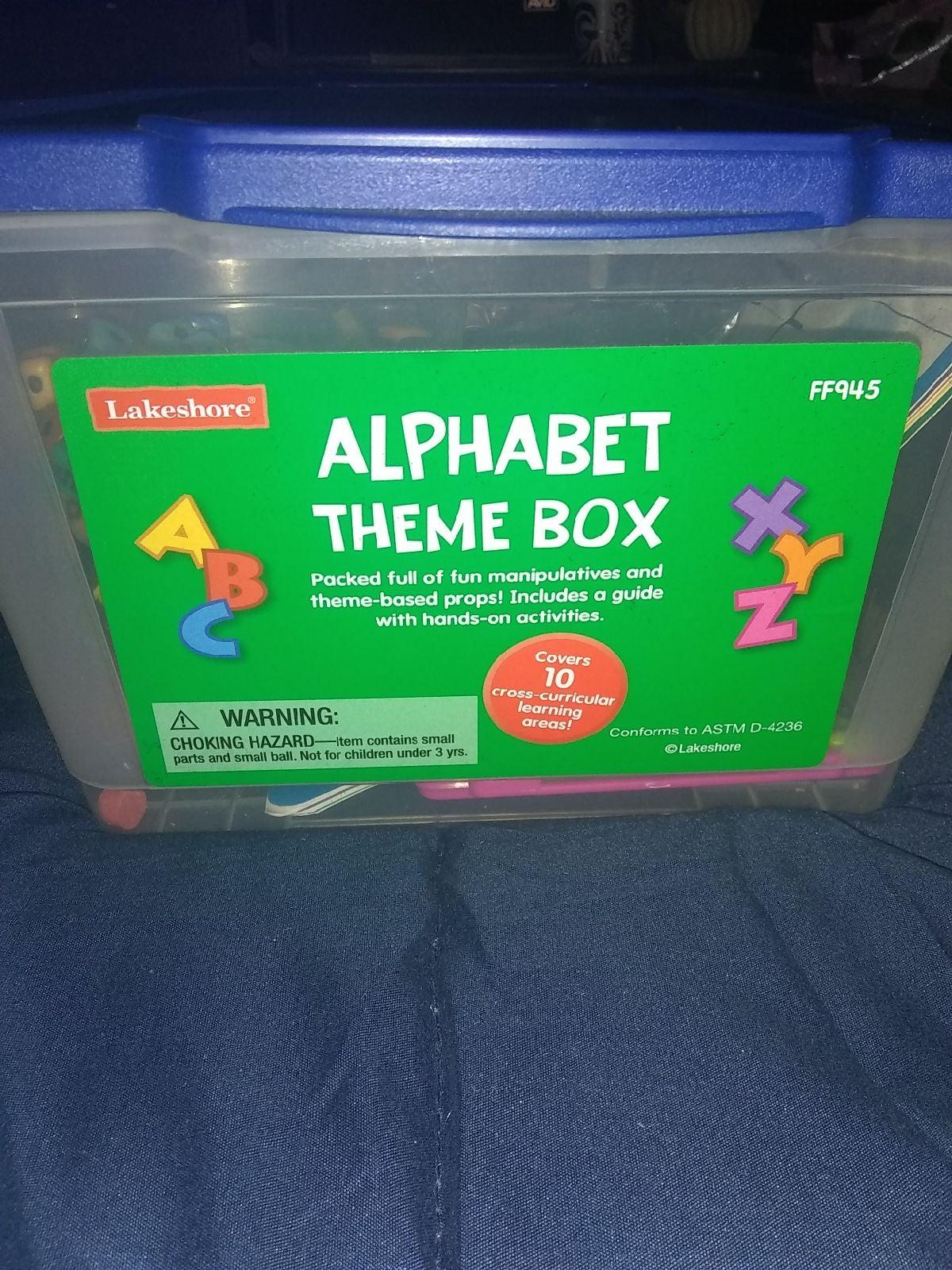Lakeshore Alphabet Theme Box