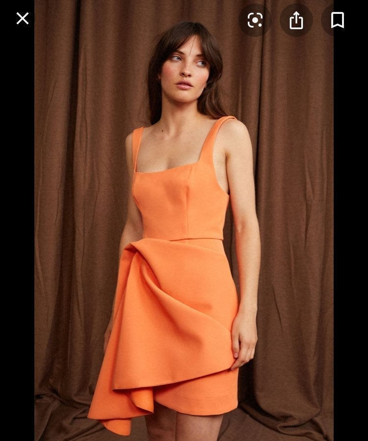 Acler Scoopneck Knotted CLARKE DRESS
