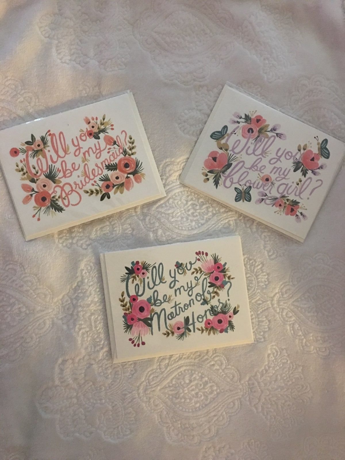 Rifle Paper Co. Wedding Party Cards