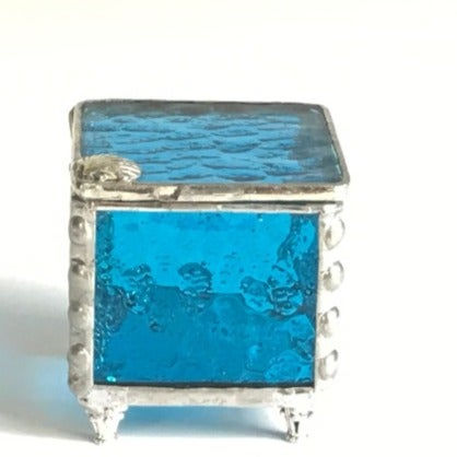 Handmade Stained Glass Trinket Box