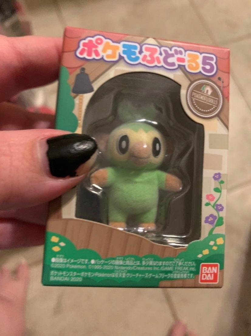 Pokemofu dolls grookey