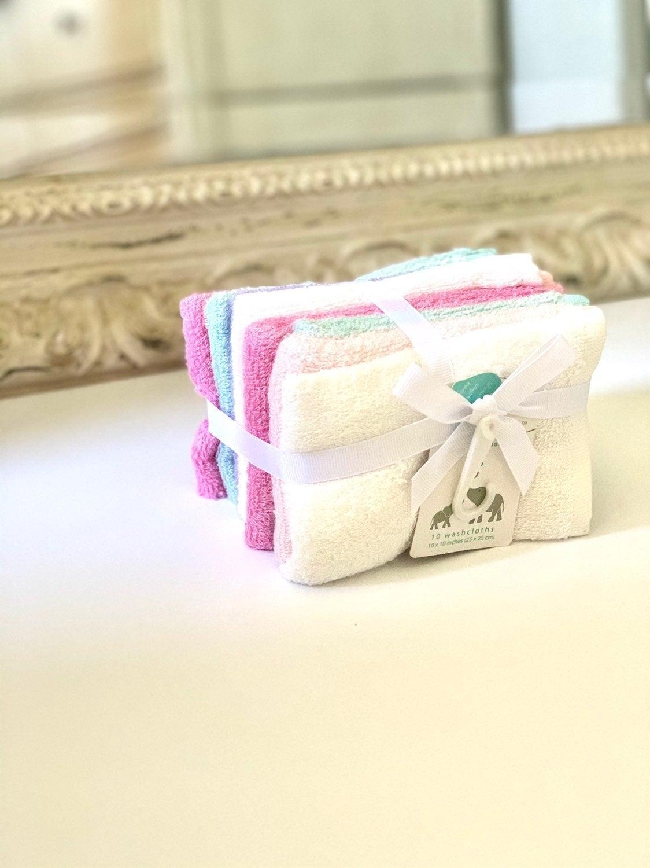 Bamboo Baby wash cloths