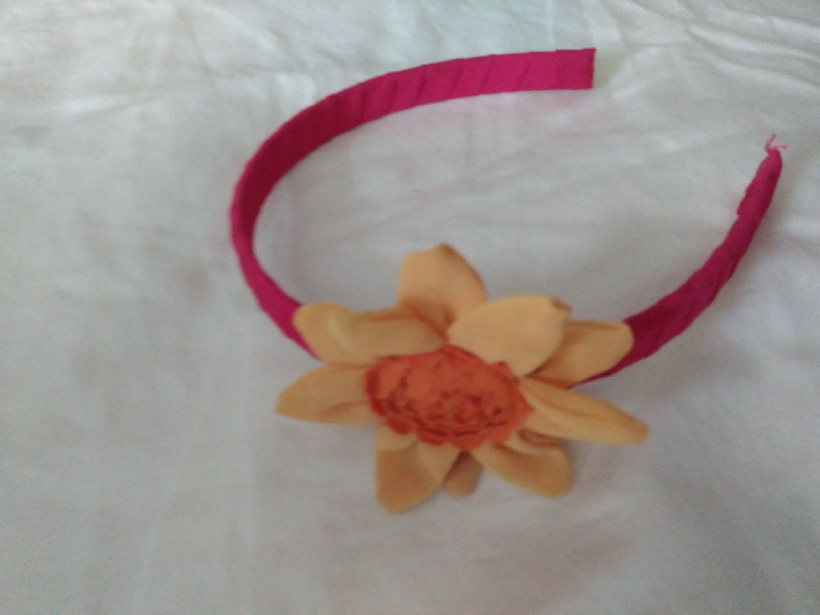 Gymboree kids sunflower headband