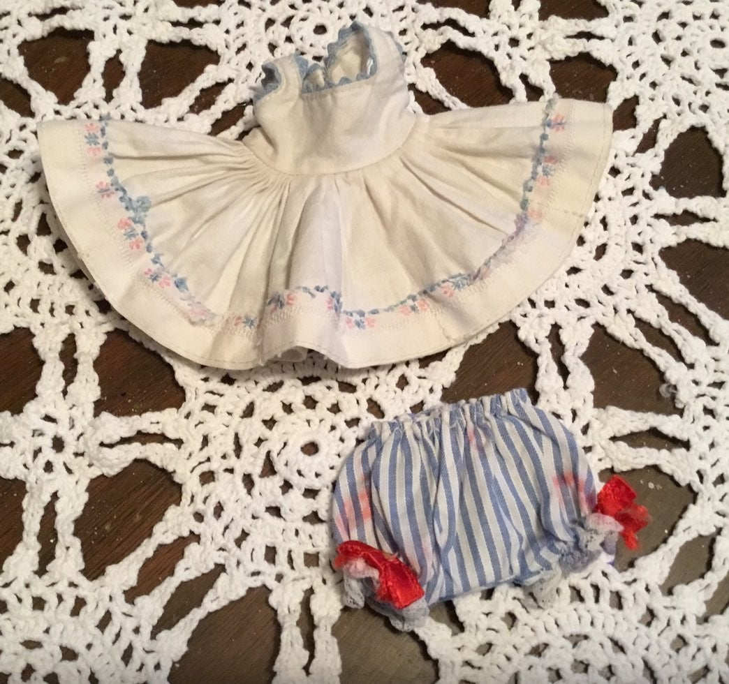 Madame alexanderkins doll dress old