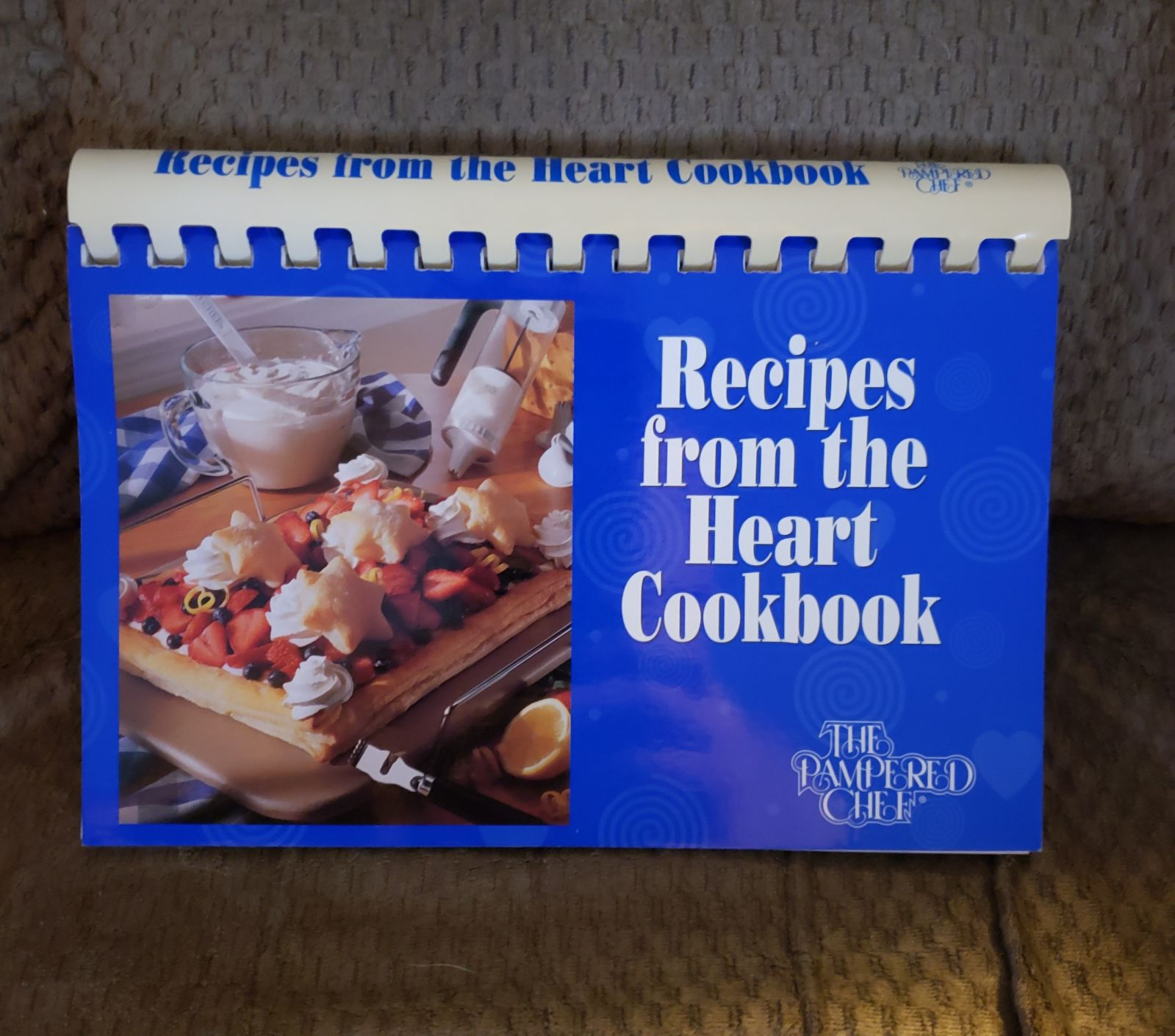 Pampered Chef Recipes From The Heart Coo