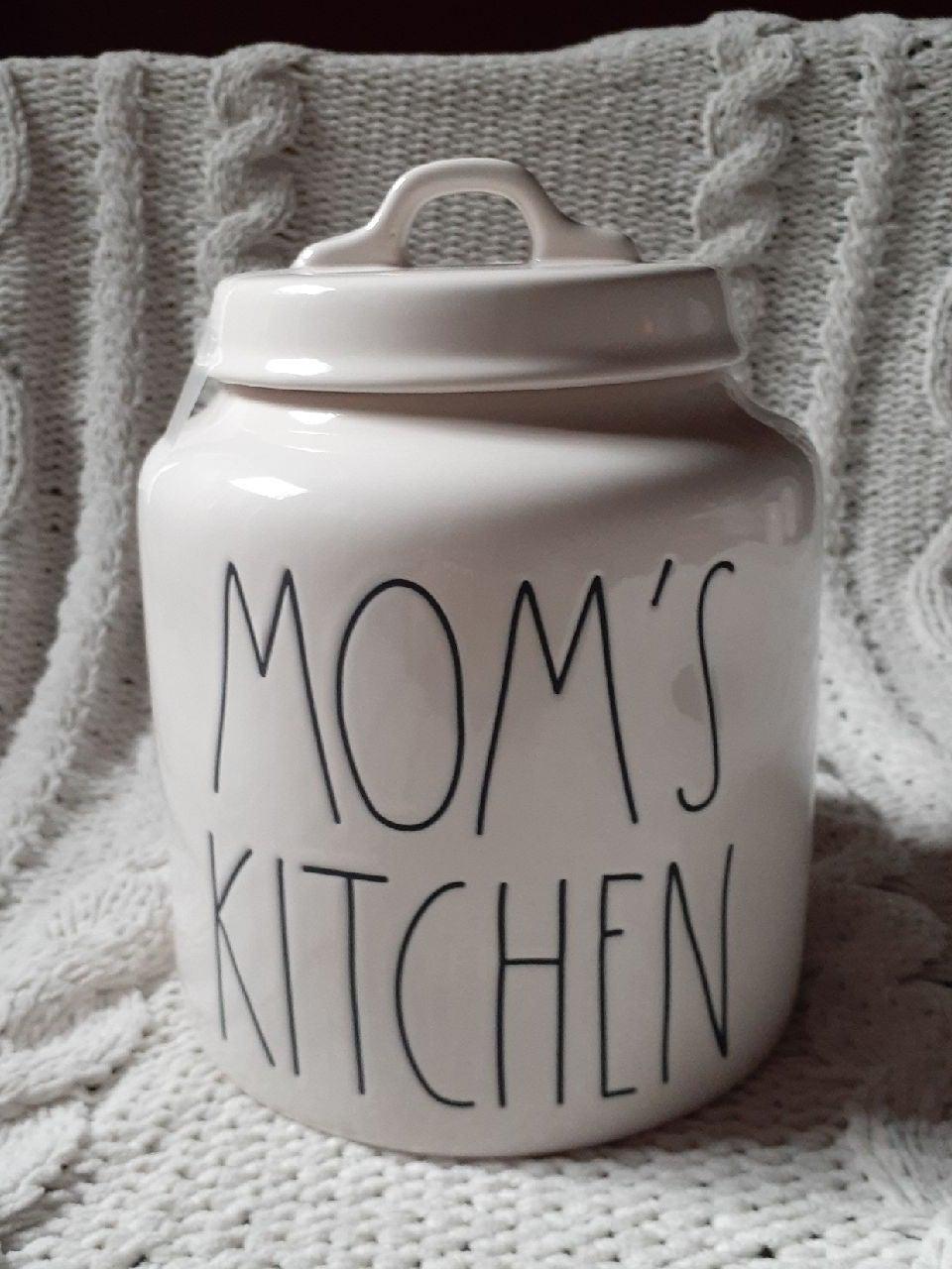 Rae Dunn Mom cookie jar