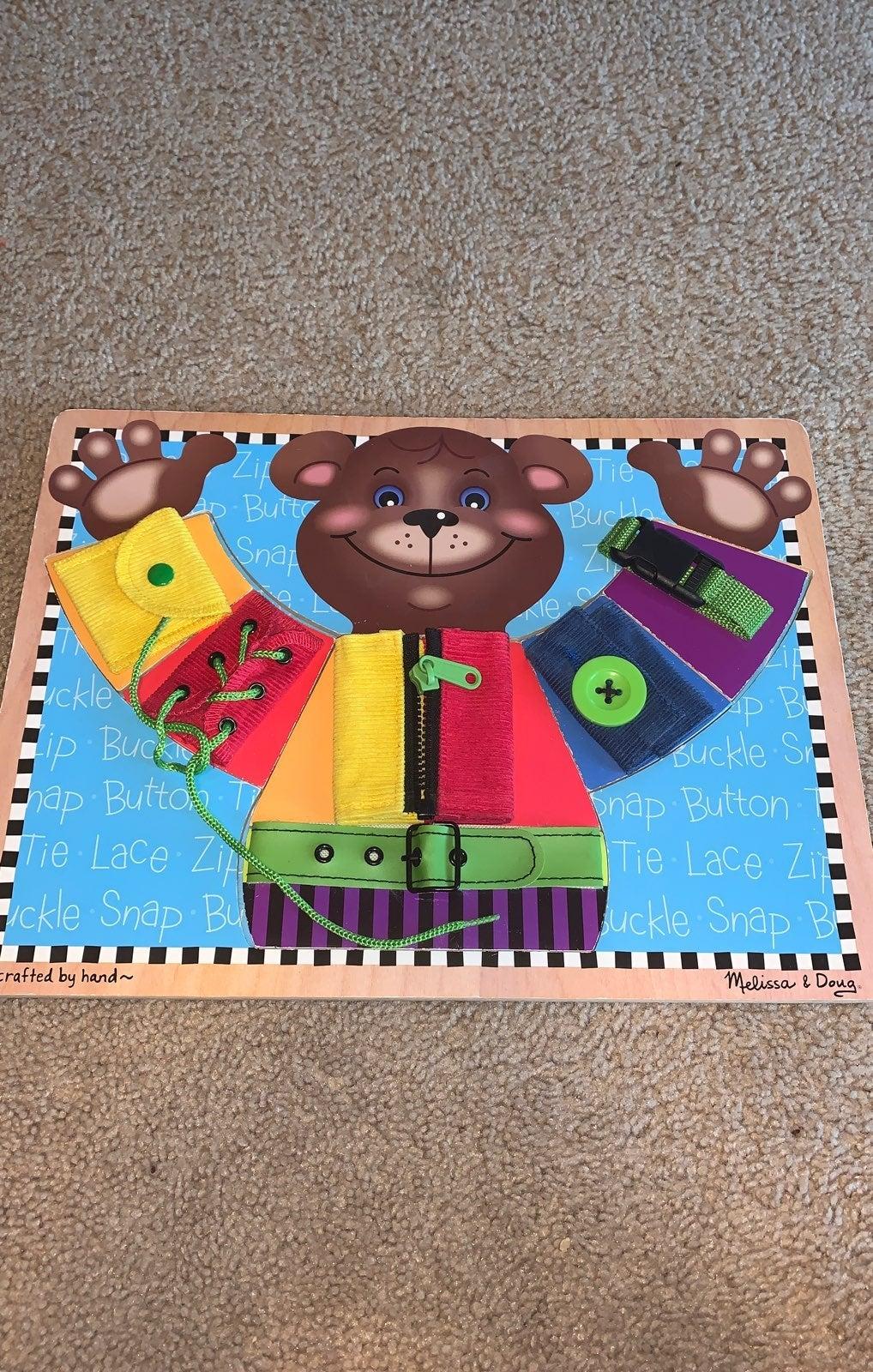 Melissa and Doug basic skills puzzle