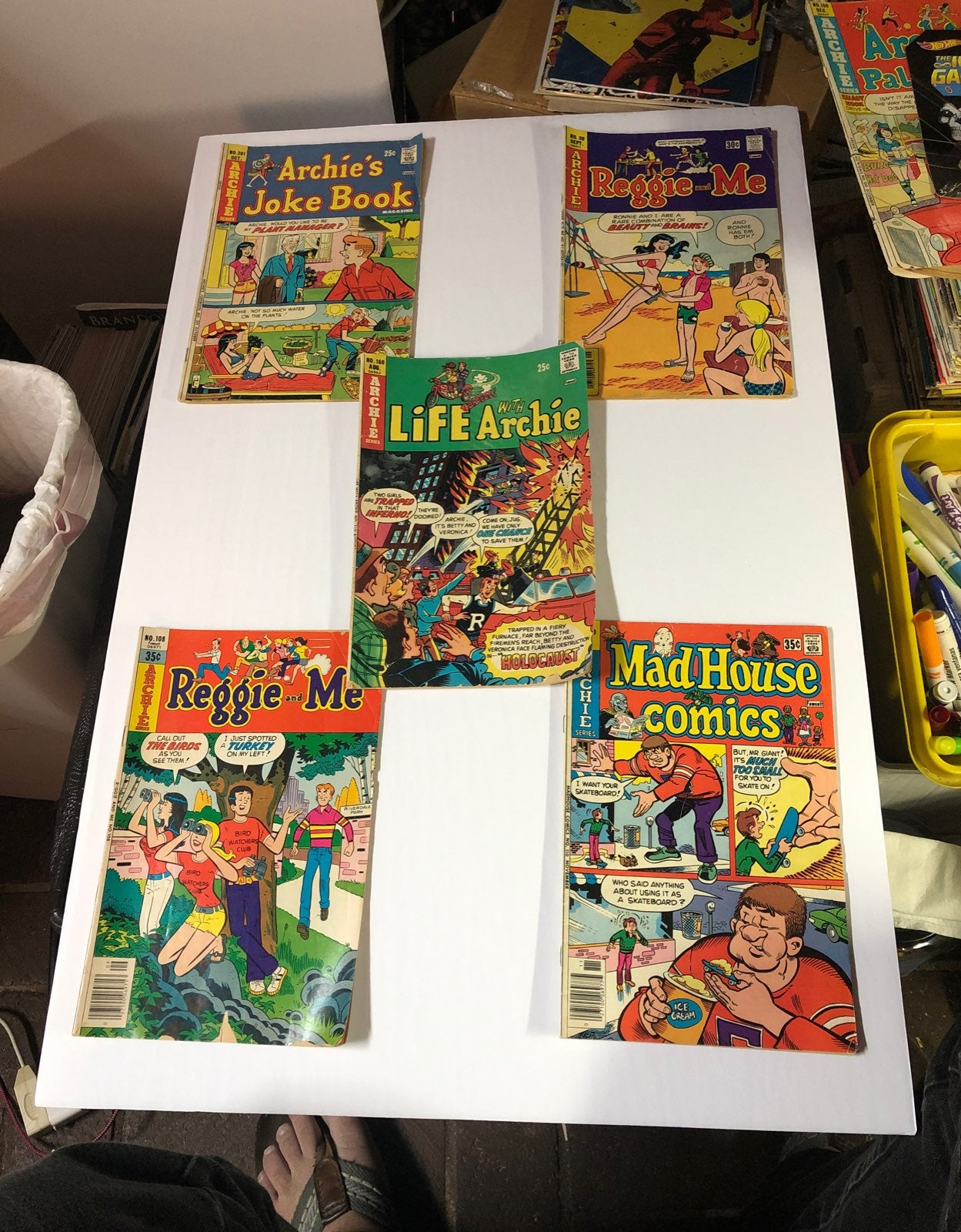 Archie comics lot of 5 free shipping
