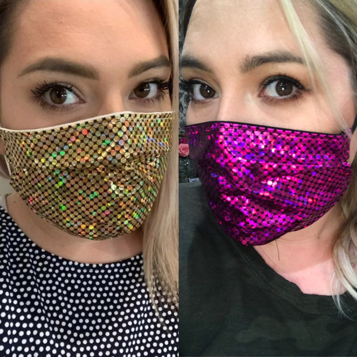Face mask 2 pack adult/women size