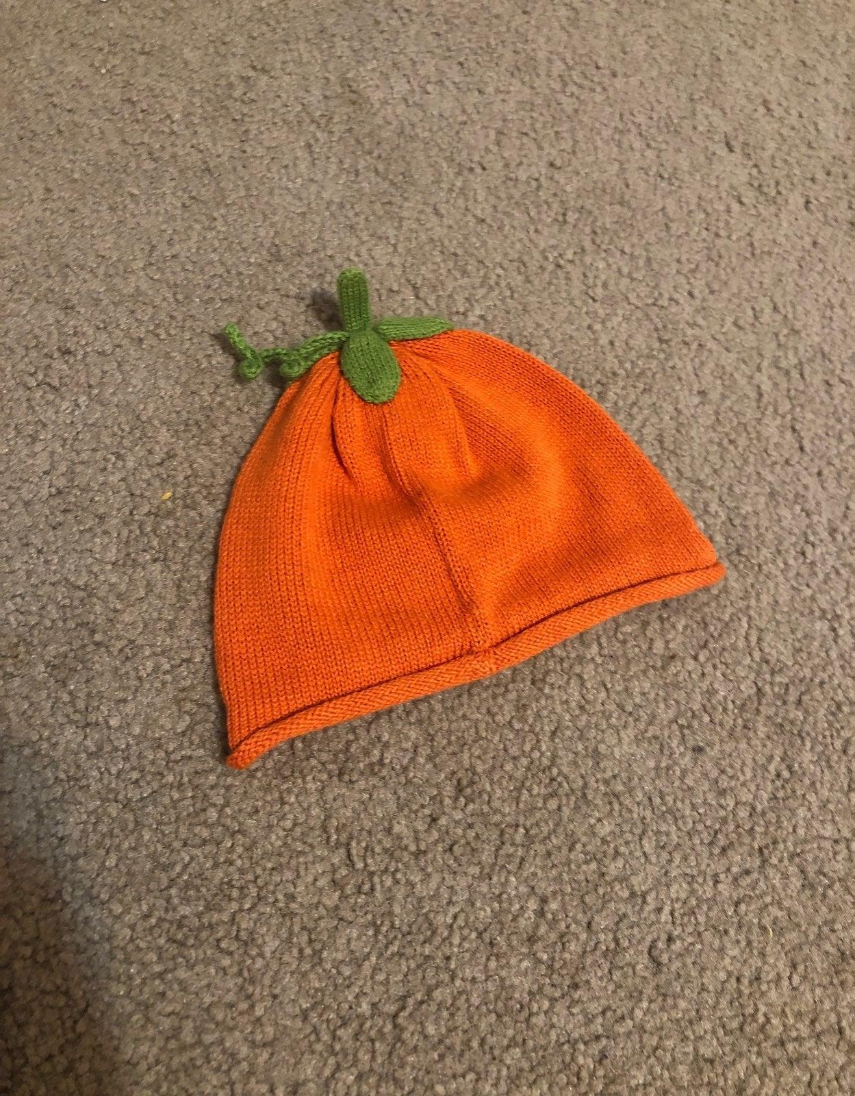 Gymboree Baby Pumpkin Hat 3-6 Months NWO