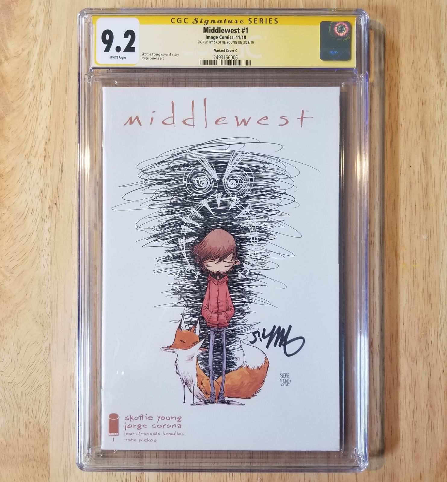 Middlewest 1 1:20 CGC SS 9.2 S. Young