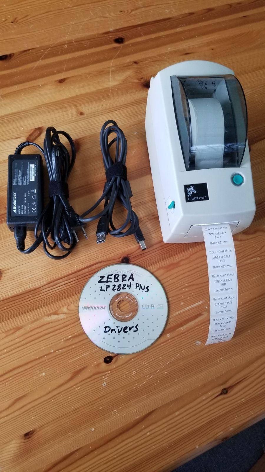 Zebra LP 2824 Plus Thermal Label Printer
