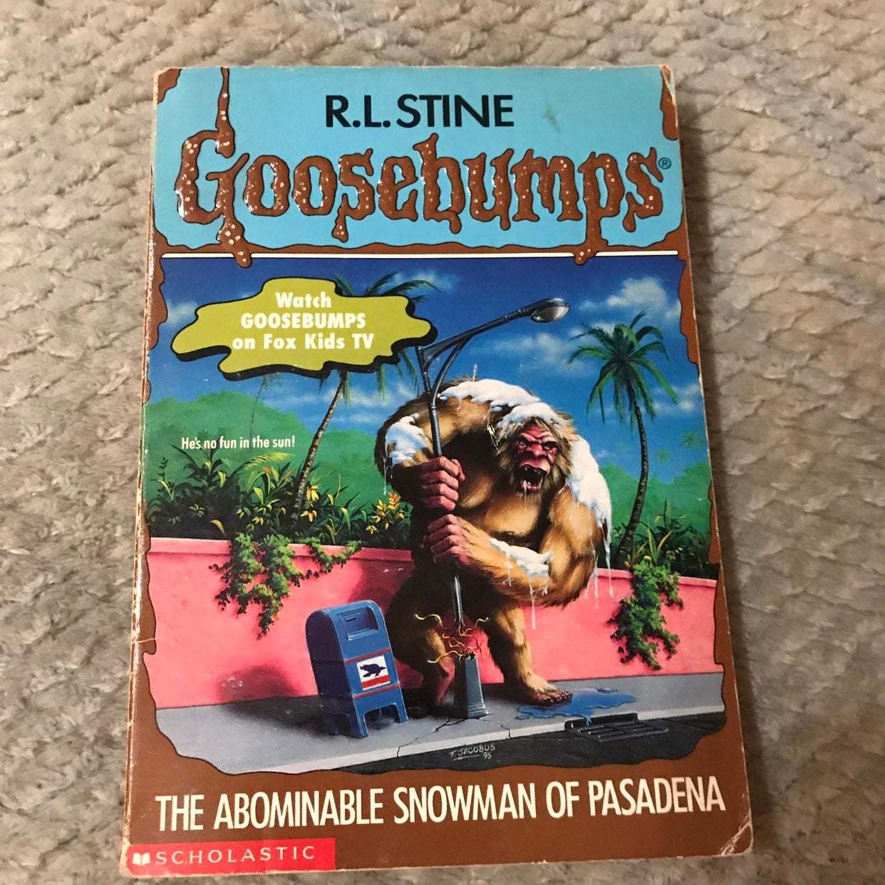 Goosebumps Abominable Snowman #38 Book